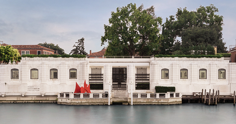 Peggy Guggenheim collection in Venice (in Italian)