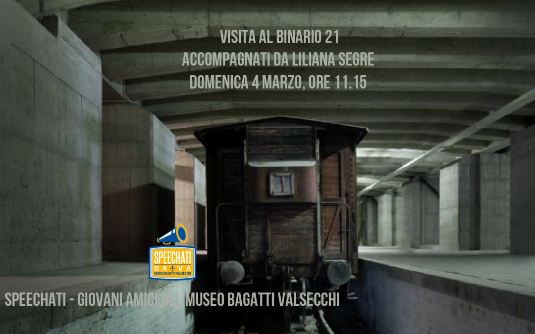 Binario 21 accompagnati da Liliana Segre – SOLD OUT