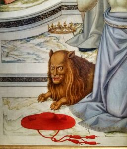 Lions and Other Animals at the Bagatti Valsecchi Museum (in Italian)