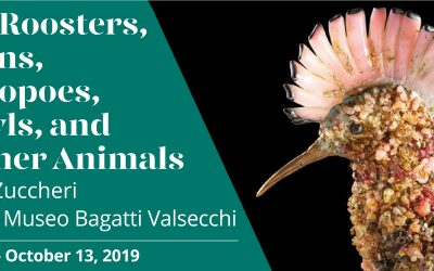 Of roosters and hens, hoopoes, owls and other animals. Toni Zuccheri at the Bagatti Valsecchi Museum