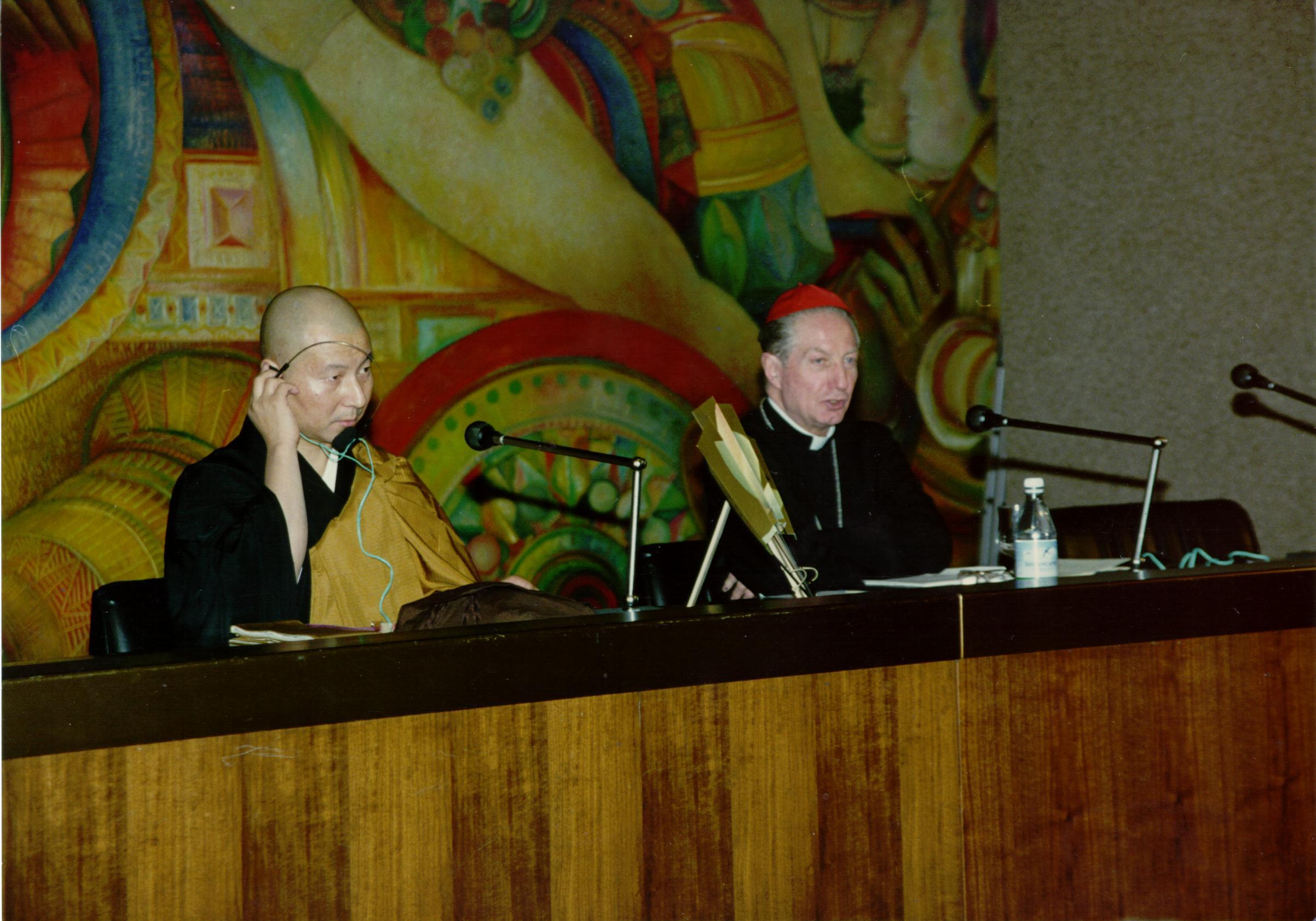 1993, VII edizione: il Cardinale con Shoten Minegishi
