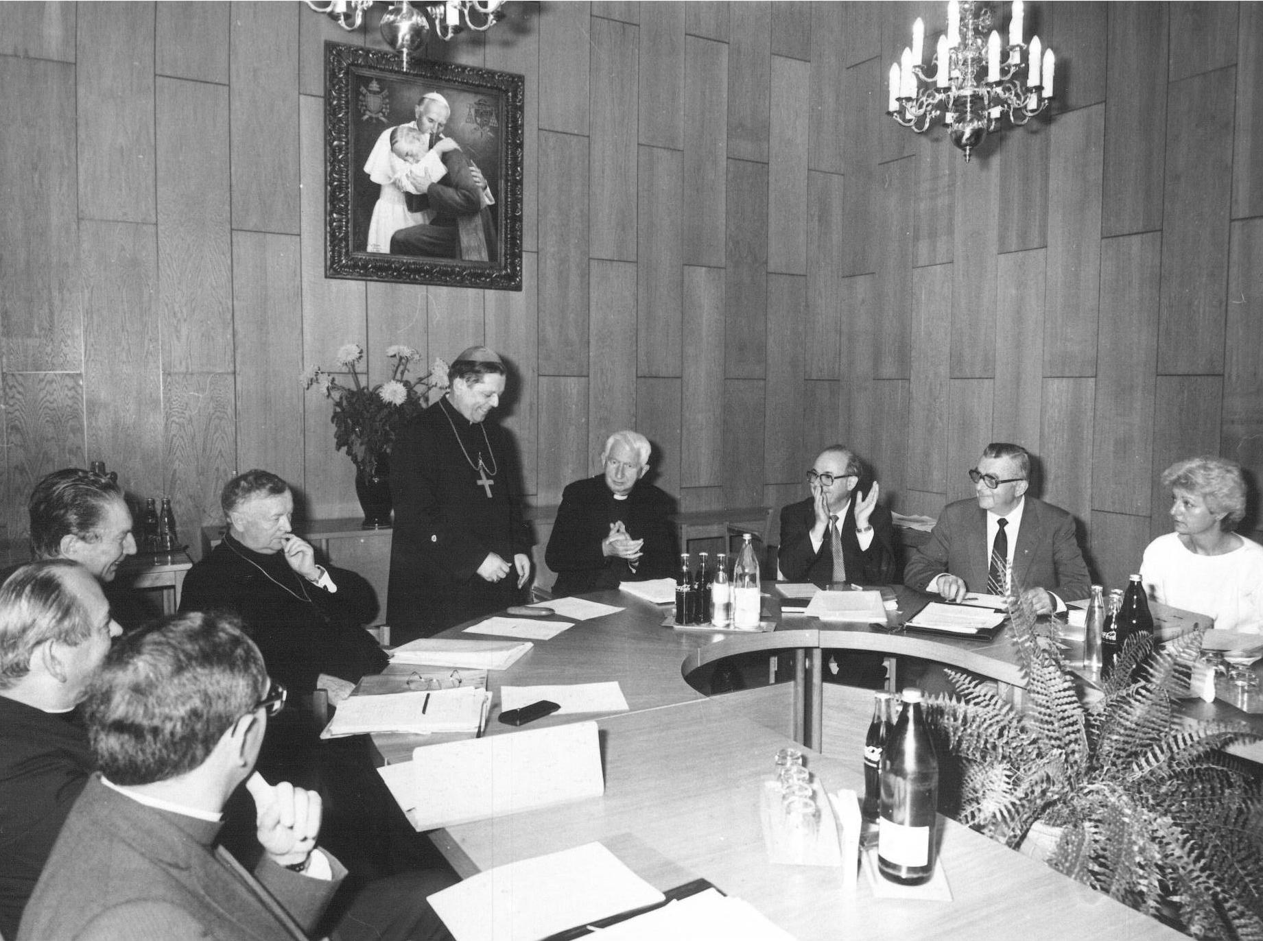 Il tavolo di discussione al CCEE