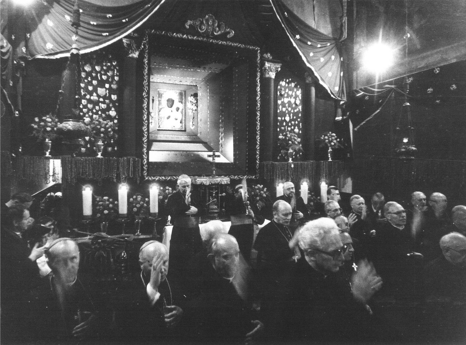 In visita al santuario della Madonna di Czestochowa