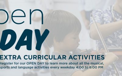 OPEN DAY OF EXTRACURRICULAR ACTIVITIES