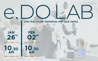 e.DO LAB – robotic workshop in English