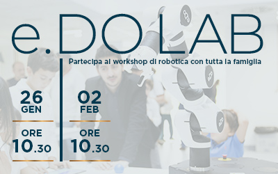 e.DO LAB – workshop di robotica in inglese